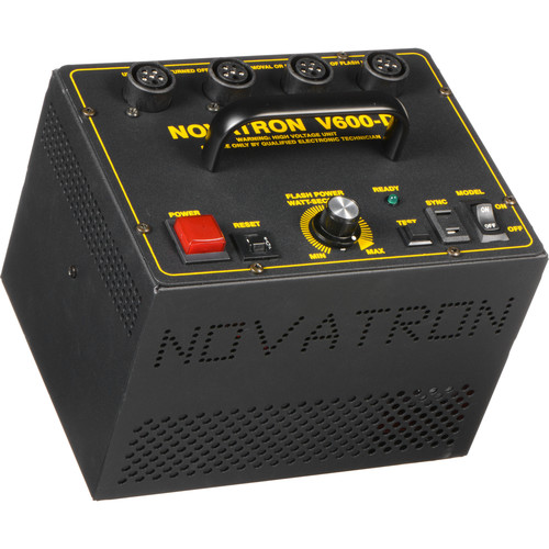 Novatron V600-D 600 W/S 3- Light Kit No Umbrellas, Stands or Case