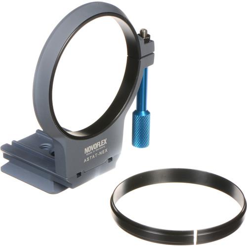 Novoflex ASTAT-NEX Tripod Collar for Sony NEX Lens Adapters