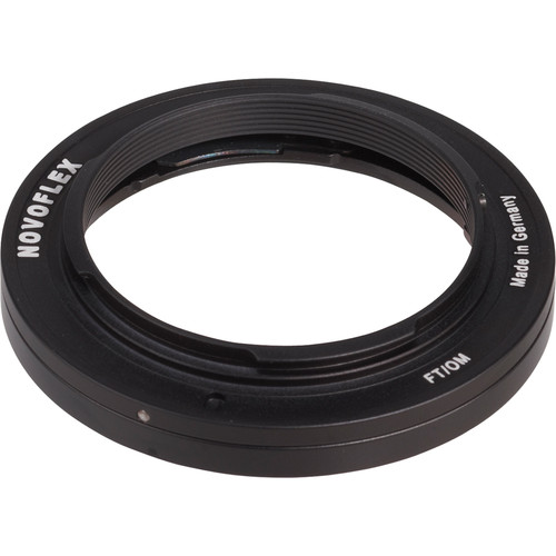 Novoflex Lens Mount Adapter - Olympus Lens to Four-Thirds Camera Body