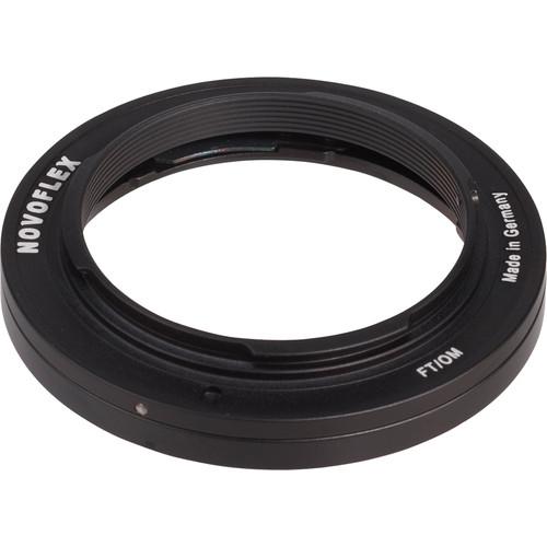 Novoflex Lens Mount Adapter - Olympus Lens to Four-Thirds Camera Body