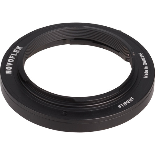 Novoflex Lens Mount Adapter - Pentax Lens to Four-Thirds Camera Body