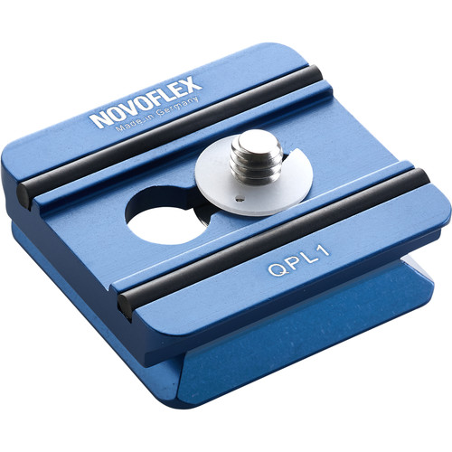 "Novoflex Quick Release Plate for Q-Base System, 1.7"""