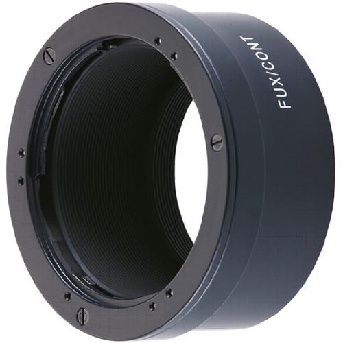 Novoflex Adapter for Contax/Yashica Mount Lenses to Fujifilm X Mount Digital Cameras