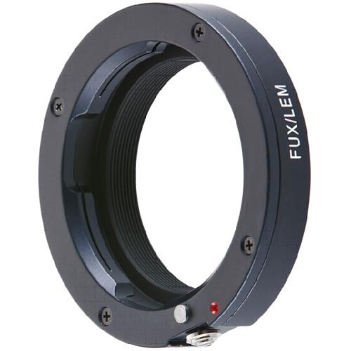 Novoflex Adapter for Leica M Mount Lenses to Fujifilm X Mount Digital Cameras