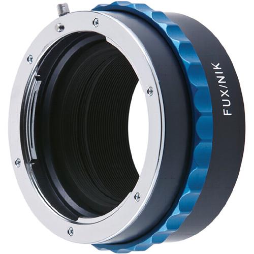 Novoflex Adapter for Nikon Mount to Fujifilm X Mount Digital Cameras