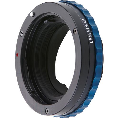 Novoflex Lens Adapter for Minolta AF/Sony Alpha Lens to Leica M Camera