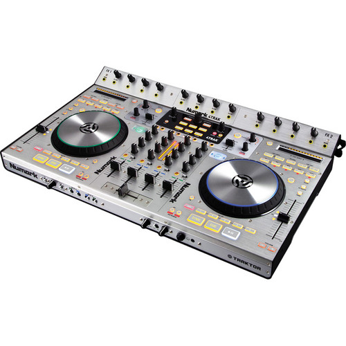 Numark 4Trak 4-Deck DJ Controller and Mixer for Traktor DJ