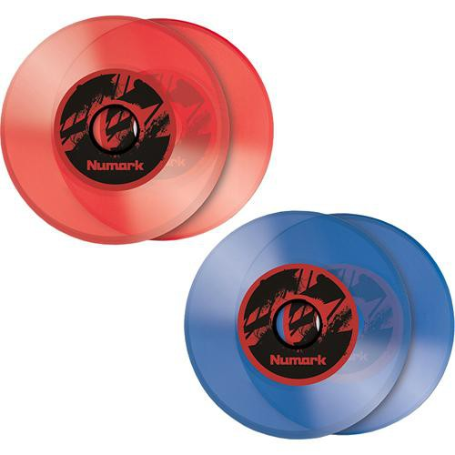 "Numark 7"" Color Vinyl - Replacement Vinyl for the NS7 (Ice Blue) (Pair)"