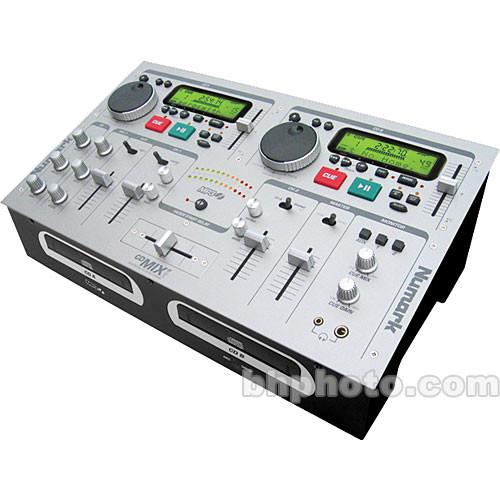 Numark CD MIX-3 Mixer with Dual CD Player