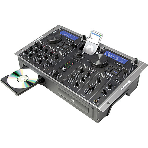 Numark iCD MIX-2 Dual CD and iPod DJ System with Integrated Mixer