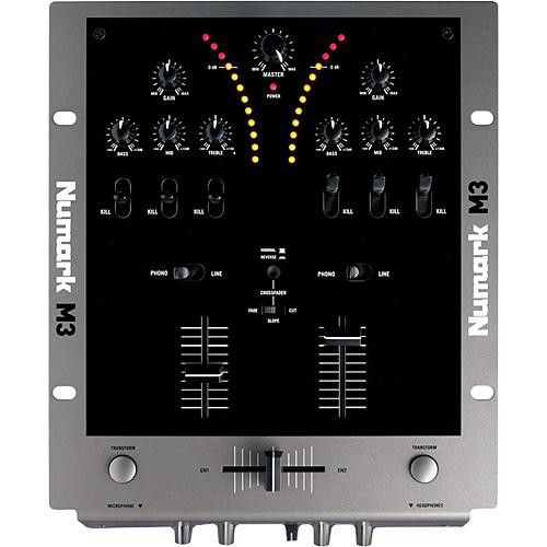 "Numark M3 - 10"" Two-Channel DJ Mixer with Transform Buttons and Kills"
