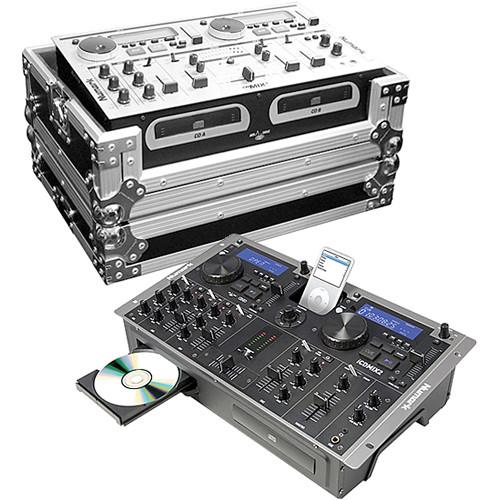 Numark Numark iCD MIX-2 CD & iPod DJ System & Transit Case (B&H Kit)
