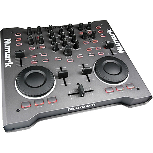 Numark Stealth Control - Professional Computer DJ Performance Controller and Software