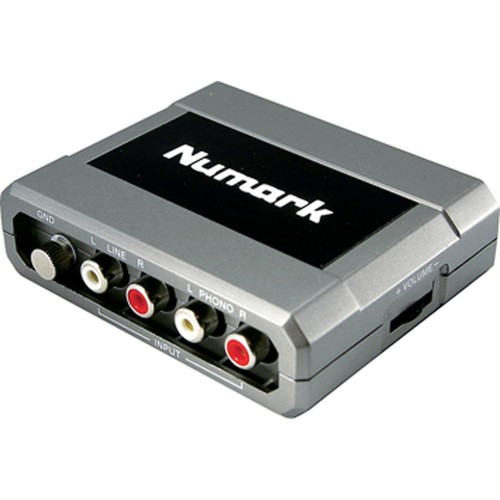 Numark Stereo iO - USB Computer Audio DJ Interface for Mac and PC