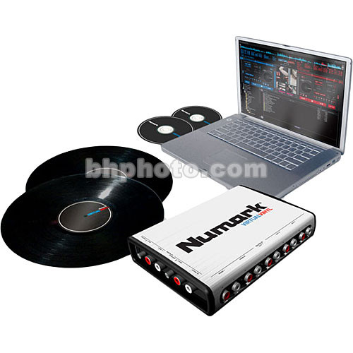 Numark Virtual-Vinyl - Virtual DJ Audio Mixing Software Package