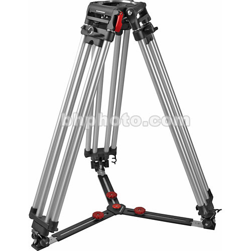 OConnor C12210003 Cine HD Single-Stage Aluminum Alloy Tripod (150mm) - Supports 309 lbs (140 kg)