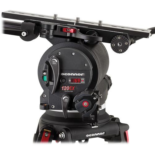 OConnor C12250001 120EX Standard Film Fluid Head (Black)