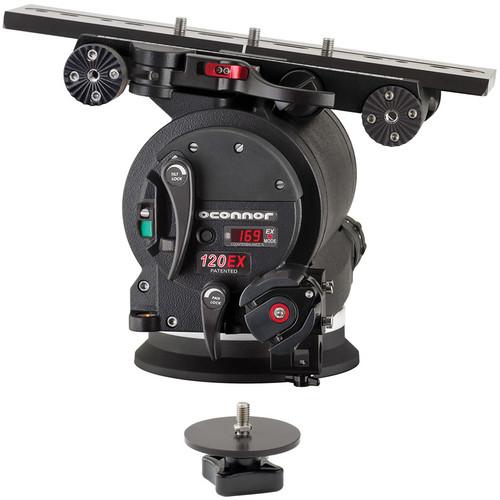 OConnor 120EX Fluid Head (c/w C1225-1007 & C1225-1011)