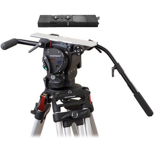 OConnor ULTIMATE 2575D Professional Fluid Head Package Mitchell Base(Black)
