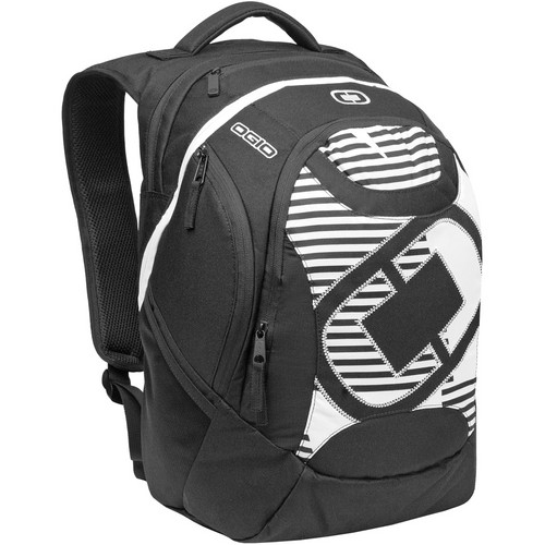 "OGIO Privateer Backpack with 17"" Laptop Pocket (White Stripes)"