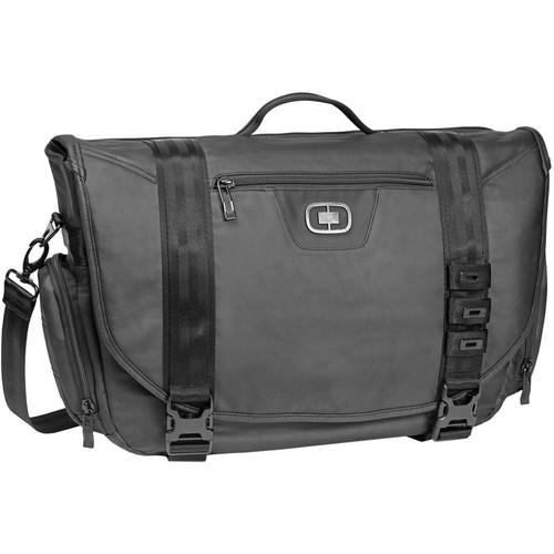OGIO Rivet Messenger Bag (Black)