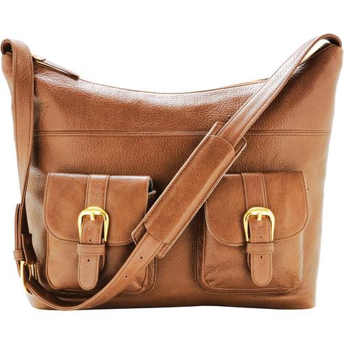 ONA The Venice Shoulder Bag (Camel)