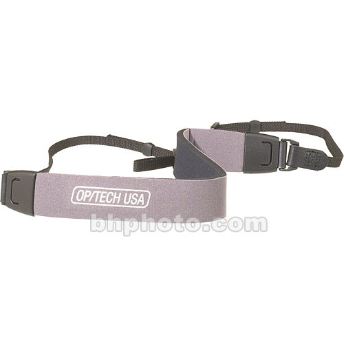 OP/TECH USA Fashion Strap-Bino (Steel Gray)