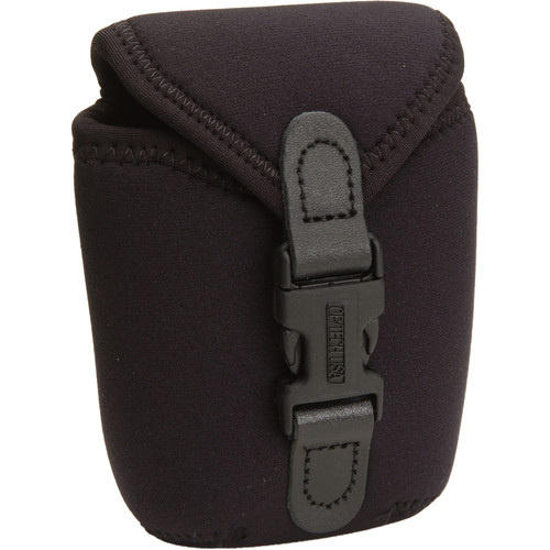 OP/TECH USA Soft Photo/Electronics Wide Body Pouch, Small (Black)