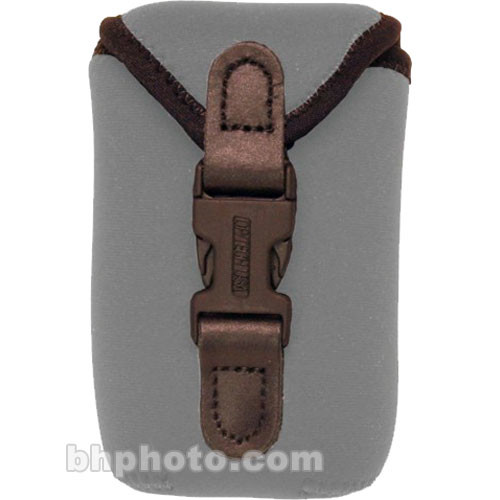 OP/TECH USA Soft Photo/Electronics Wide Body Pouch, Mini (Steel Gray)