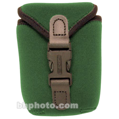 OP/TECH USA Soft Photo/Electronics Wide Body Pouch, Small (Forest Green)