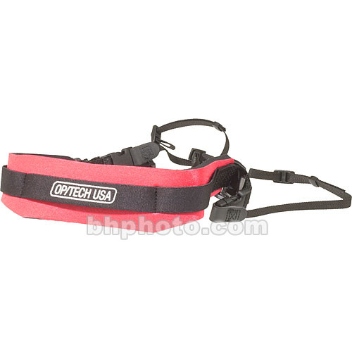 OP/TECH USA Reporter Strap (Red)