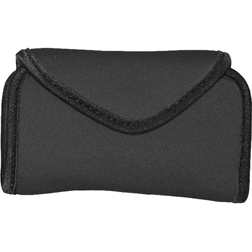 OP/TECH USA Snappeez Soft Pouch, Large Horizontal (Black)