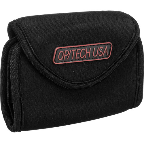 OP/TECH USA Snappeez Soft Pouch, Medium Wide Body Horizontal (Black)