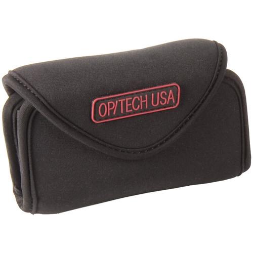 OP/TECH USA Snappeez Soft Pouch, Large Wide Body Horizontal (Black)