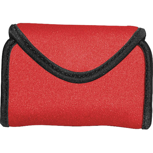 OP/TECH USA Snappeez Soft Pouch, Medium Horizontal (Red)