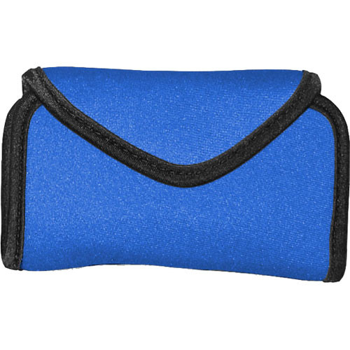 OP/TECH USA Snappeez Soft Pouch, Large Horizontal (Royal Blue)