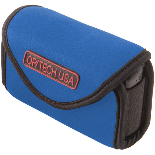 OP/TECH USA Snappeez Soft Pouch, Medium Wide Body Horizontal (Royal Blue)