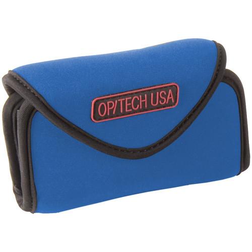 OP/TECH USA Snappeez Soft Pouch, Large Wide Body Horizontal (Royal Blue)