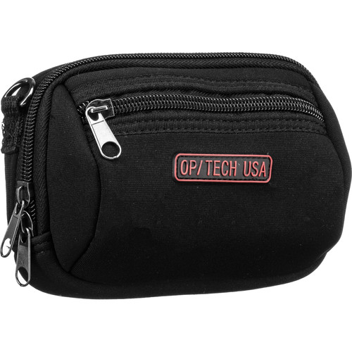 OP/TECH USA Zippeez Soft Pouch, Large (Black)