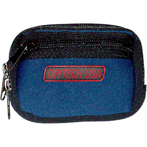 OP/TECH USA Zippeez Soft Pouch, Small (Navy)