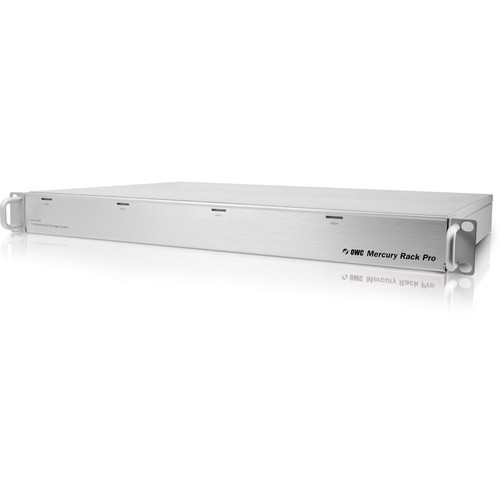 """OWC / Other World Computing 8TB Mercury Rack Pro Storage Solution With 4 3.5"""" Hard Drives Kit"""