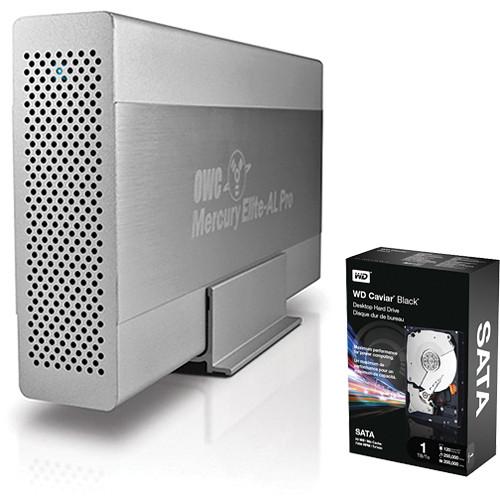 OWC / Other World Computing 1TB Mercury Elite-AL Pro Combo Interface Storage Kit
