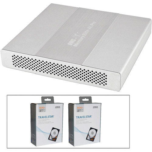 OWC / Other World Computing 1TB Mercury Elite Pro Dual mini Quad Interface RAID Enclosure