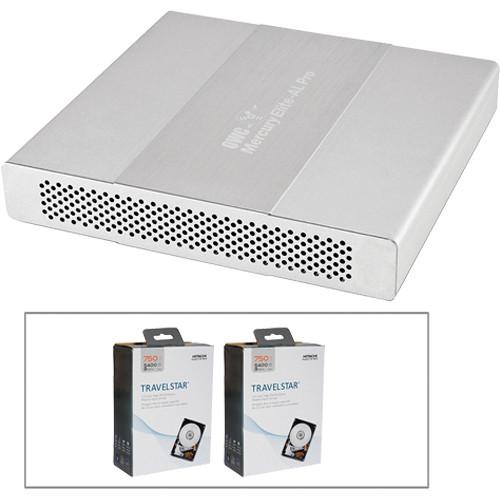 OWC / Other World Computing 1.5TB Mercury Elite Pro Dual mini Quad Interface RAID Enclosure