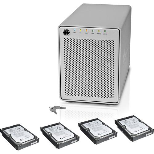 "OWC / Other World Computing 4TB (4 x 1TB) Mercury Elite Pro RAID with 3.5"" SATA Hard Drives Kit"
