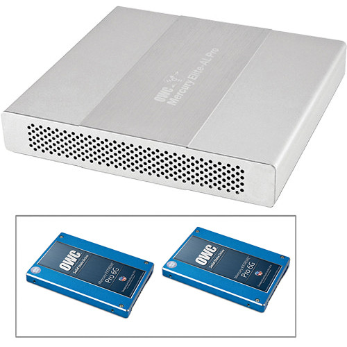OWC / Other World Computing 512GB Mercury Elite Pro Dual mini Quad Interface RAID Enclosure