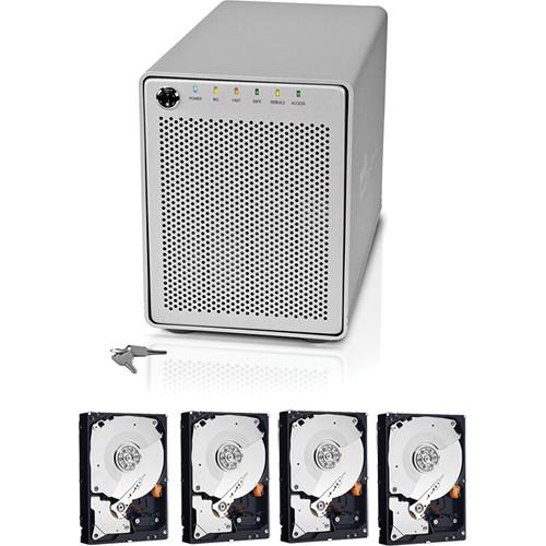 OWC / Other World Computing 8TB (4x2TB) Mercury Elite Pro Qx2 Quad Interface 4-Bay RAID Solution B&H Kit