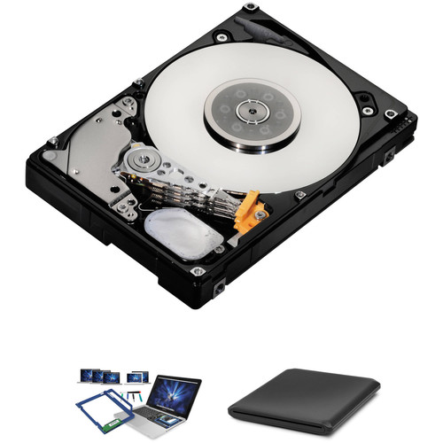 OWC / Other World Computing Converter Bracket Kit with 1TB Hard Drive and External Optical Drive Enclosure