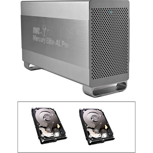 OWC / Other World Computing 2TB Mercury Elite Pro RAID 0 Enclosure Kit (Dual 1TB HD)