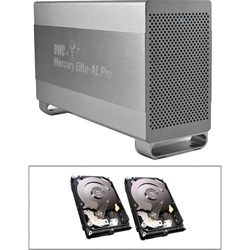 OWC / Other World Computing 6TB Mercury Elite Pro RAID 0 Enclosure Kit (Dual 3TB HD)